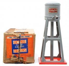 4: Lionel Prewar 93 Gray Water Tank MINT Boxed
