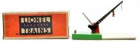 8: Lionel Prewar 46 Automatic Crossing Gate Boxed