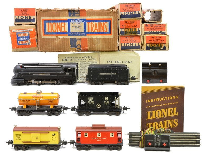 9: Lionel Uncatalogued Sears Freight Set no. 187WX
