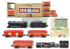 12: Lionel Red Passenger Set no. 146W Boxed