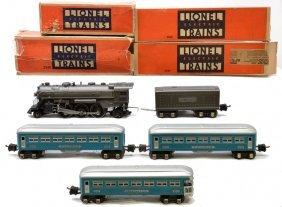 Lionel Light Blue Passenger Set No. 178W LN OB