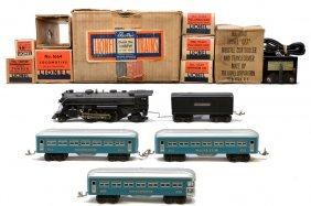 22: Lionel Prewar Blue Passenger Set no. 1088W LN OB