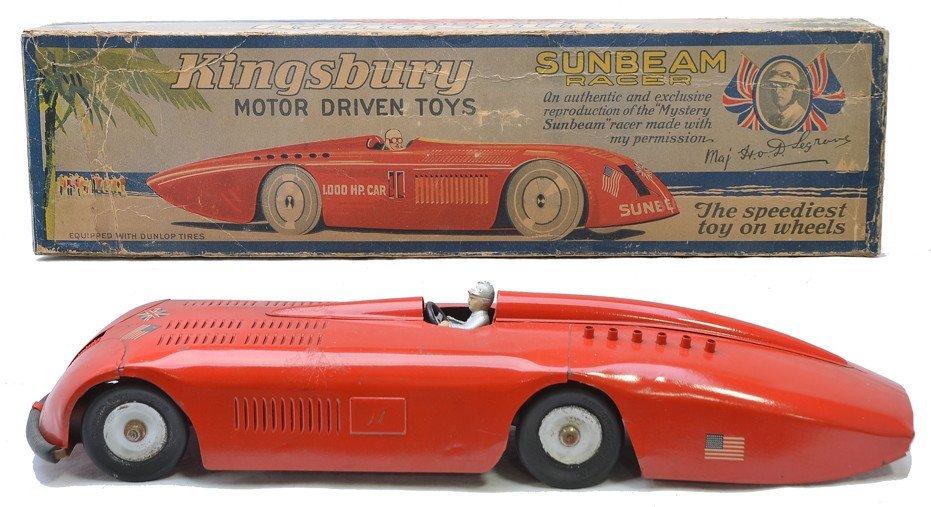 421: Kingsbury Motor Driven Sunbeam Racer Boxed
