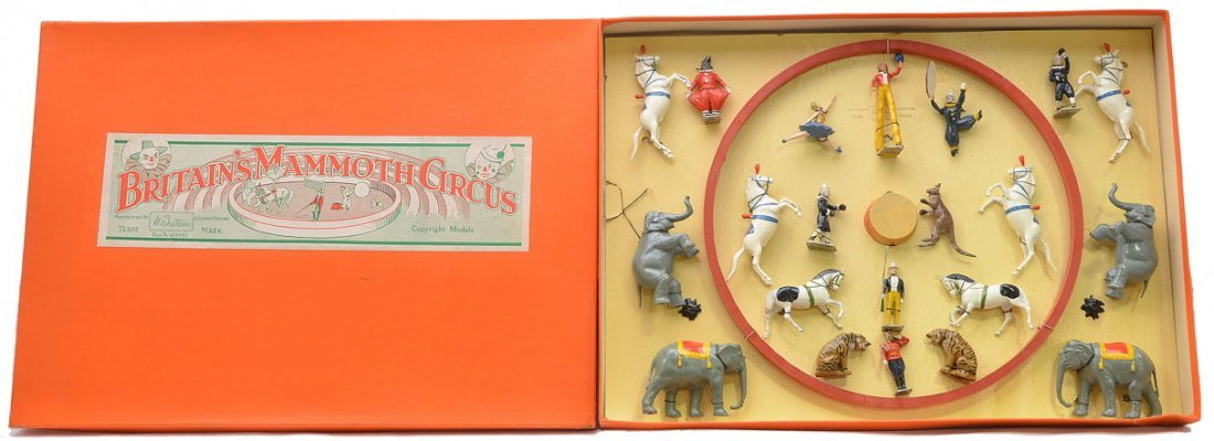 511: Britains Mammoth Circus Set no. 1539 MINT OB
