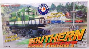 91 Lionel Southern Diesel Freight Set 31938