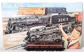 122 Railking 005 Pennsylvania GG1 freight set