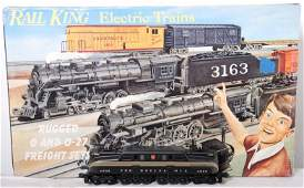 123 Railking 004 Pennsylvania GG1 freight set