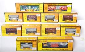 576 12 Railking ore cars and other freight cars