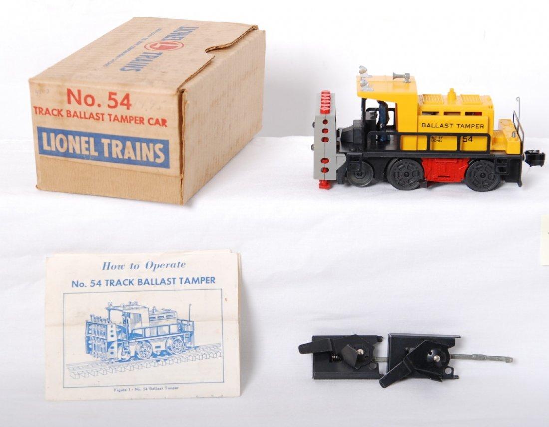 803: Lionel 54 ballast tamper in OB