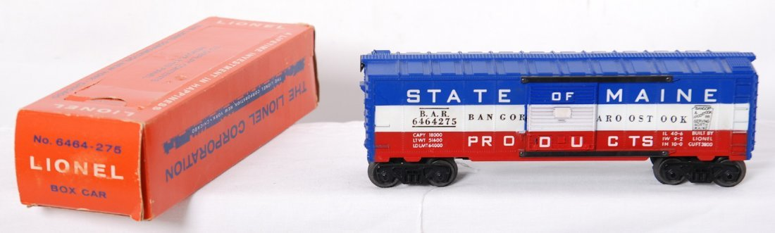 811: Postwar Lionel type III 6464-275 BAR in tougher pe