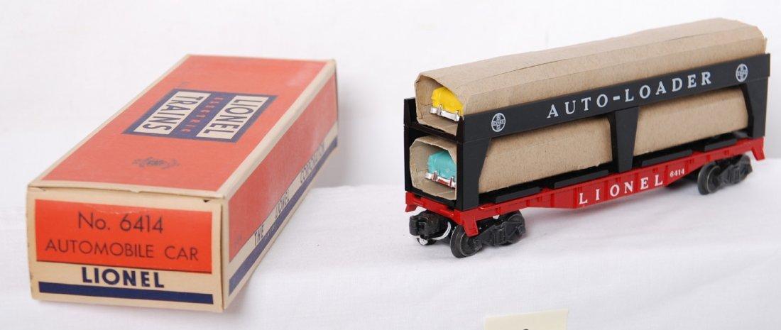 817: Lionel 6414 Evans Auto-Loader in OB, Mint