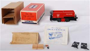 853: Lionel 55 Tie-Jector w/slot in OB