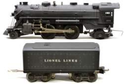 139: Lionel Prewar 1664 Steam Loco 2689W Tender