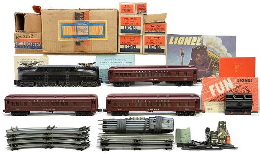 INCREDIBLE TOY AND TRAIN AUCTION Prices - 694 Auction Price