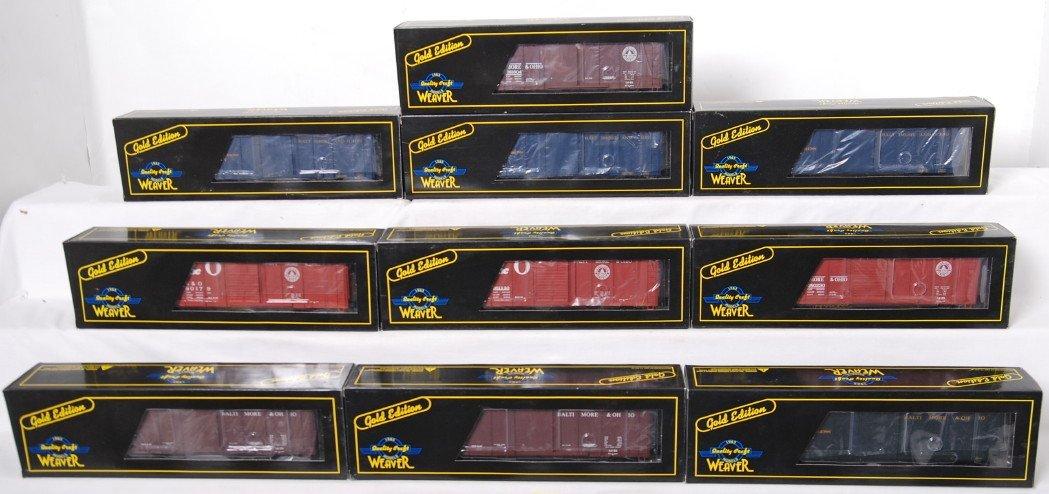 20002: 10 Weaver B&O wagon top boxcars