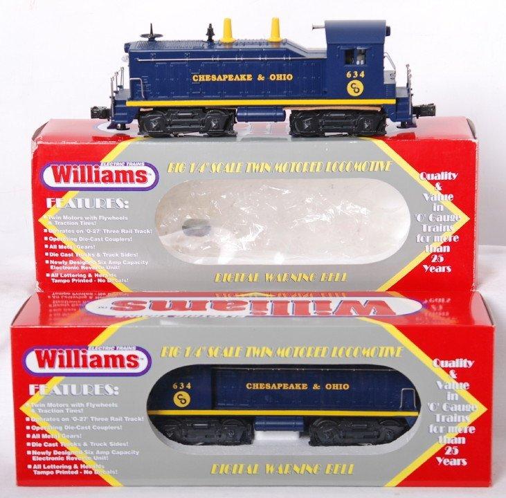 20003: 2 Williams C&O 634 switchers