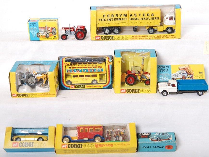 20118: Dinky Toys 66, 73, 74, 338, 470, 805, 1147, 483