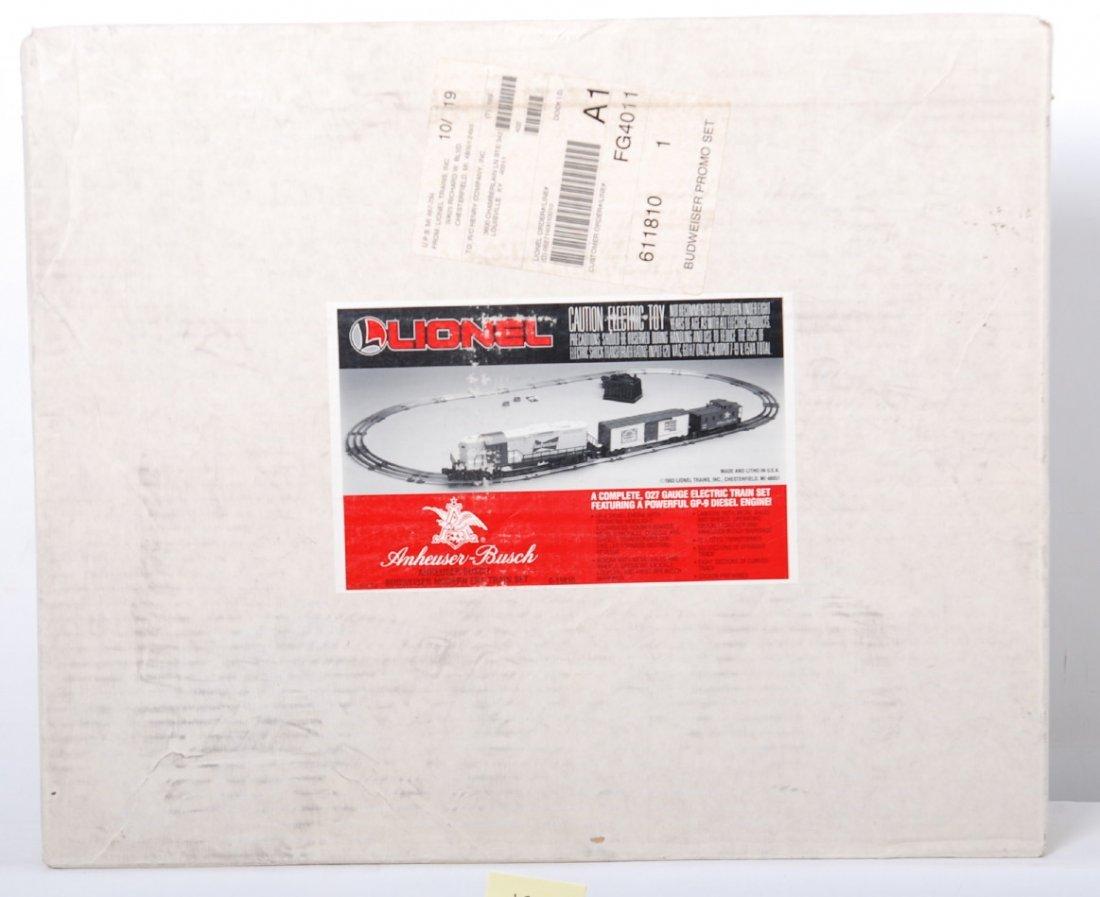 20125: Lionel 11810 Budweiser Train Set