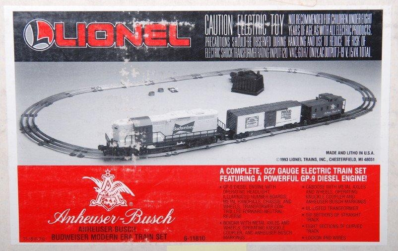 20125: Lionel 11810 Budweiser Train Set - 3
