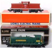 20149: Lionel and K Line Rock Island and KCC switchers