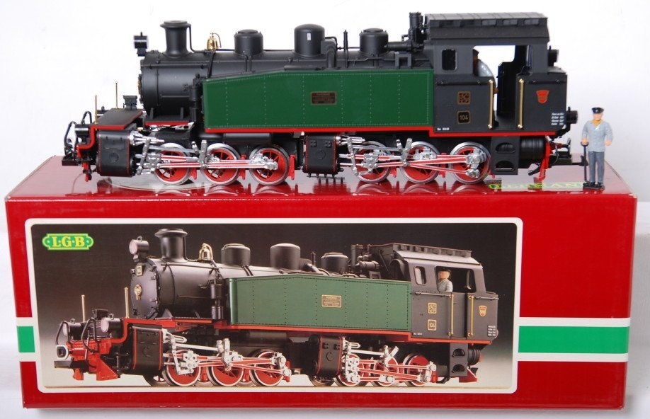 20212: LGB 2085D SEG 104 Hanomag mallet loco in OB