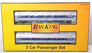 20454 Railking Amtrak Amfleet two car set