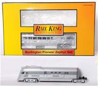 20506: MTH Railking Burlington Pioneer zephyr
