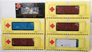 20657 6 Aristo Craft freight cars FEC CO etc