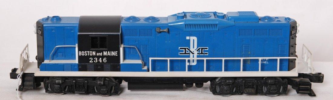 801: Lionel 2346 Boston and Maine GP-9 diesel loco