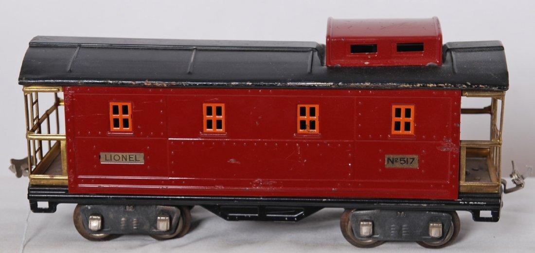 803: Lionel 517 tough coal train caboose
