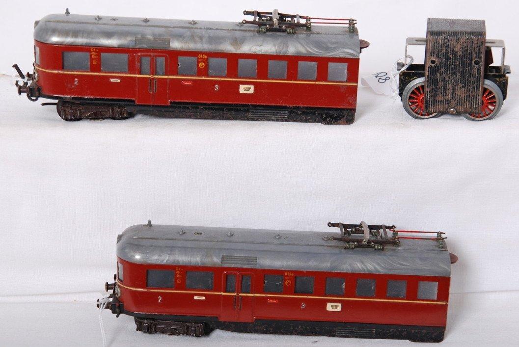 808: Fleischmann European 2nd and 3rd class electric pa
