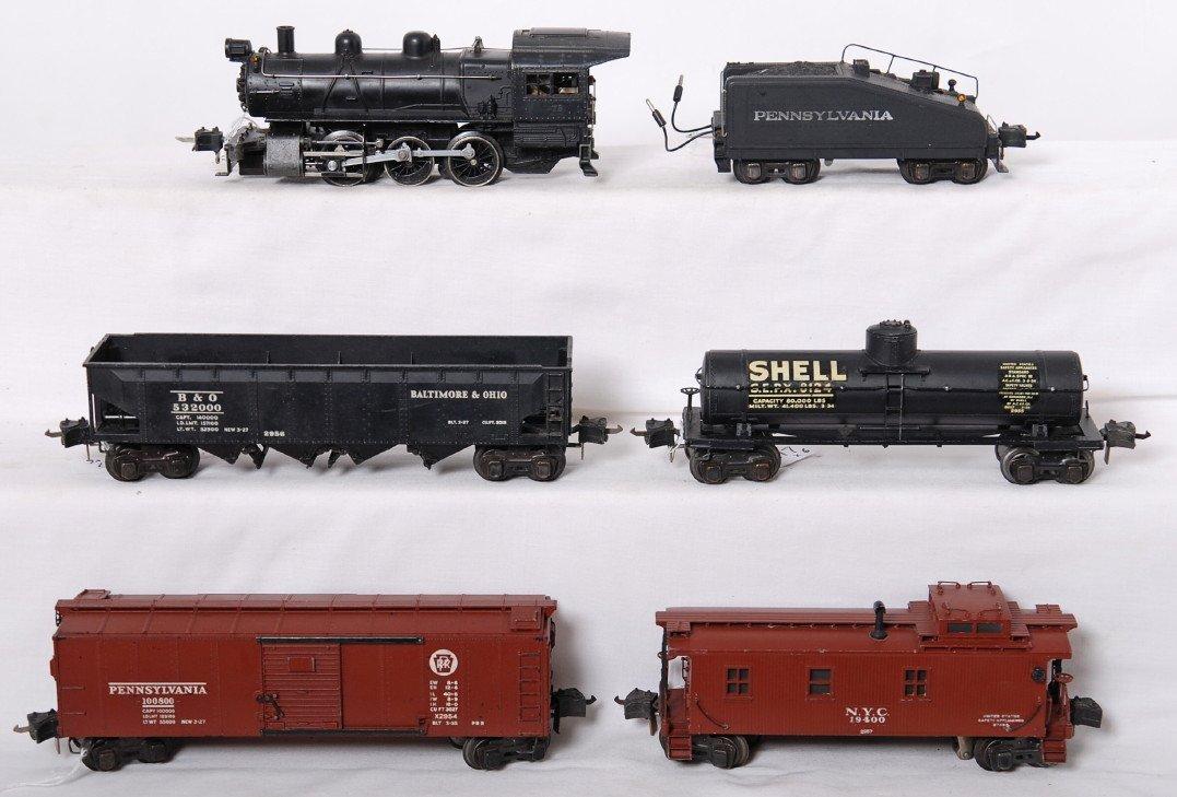 817: Lionel 223 switcher w/2228B, 2954, 2955, 2956, 295