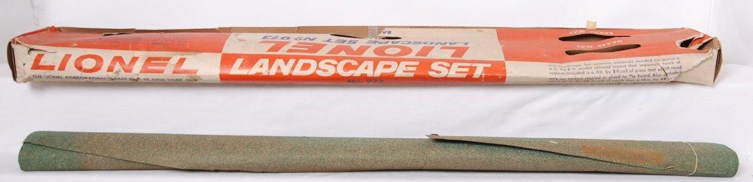 819: Lionel Landscape Set 973 landscape mat in OB