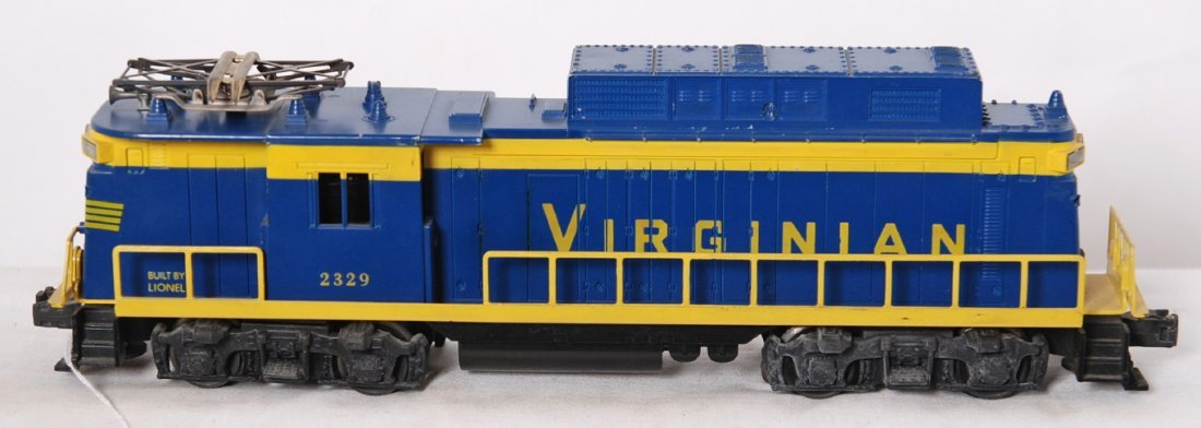 821: Lionel 2329 Virginian Rectifier electric locomotiv