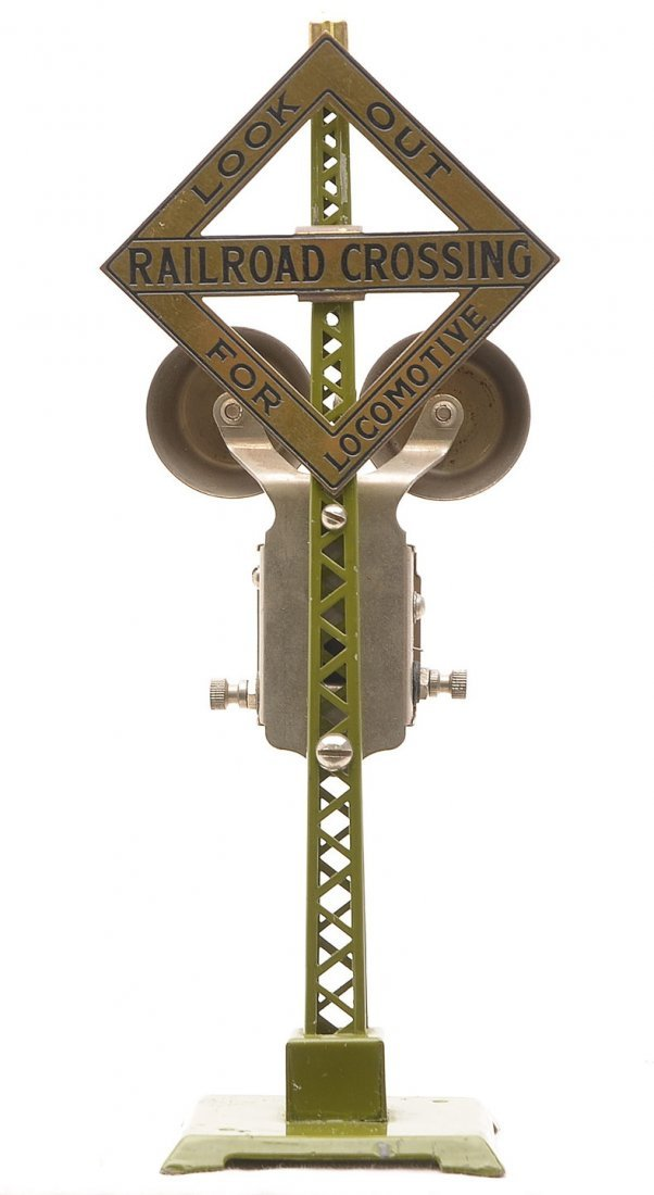 Lionel 069 Olive Green Warning Bell Signal
