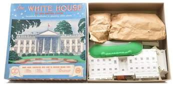 Marx White House Plastic Model Kit Boxed