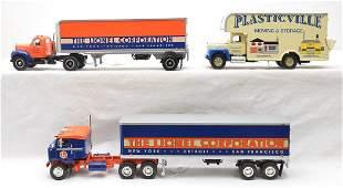 First Gear Kenworth Mack Trucks Lionel Trailers