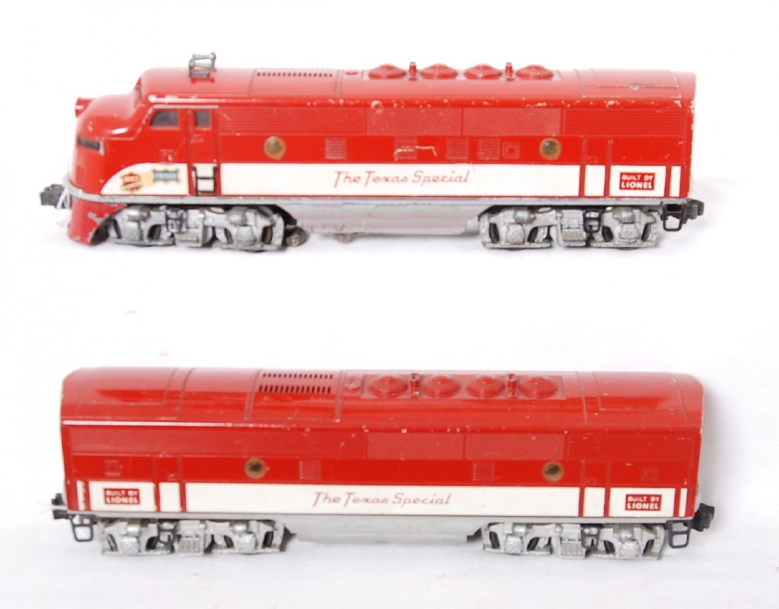 Lionel 2243 MKT The Texas Special F3 A-B diesels