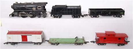 American Flyer prewar steam locomotive 476, 484, 478, e