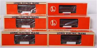 6 Lionel NW passenger cars 19139 19151 19140 etc