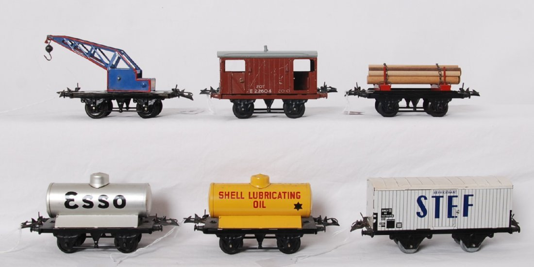 Nice lot of Hornby O gauge four wheel freight cars