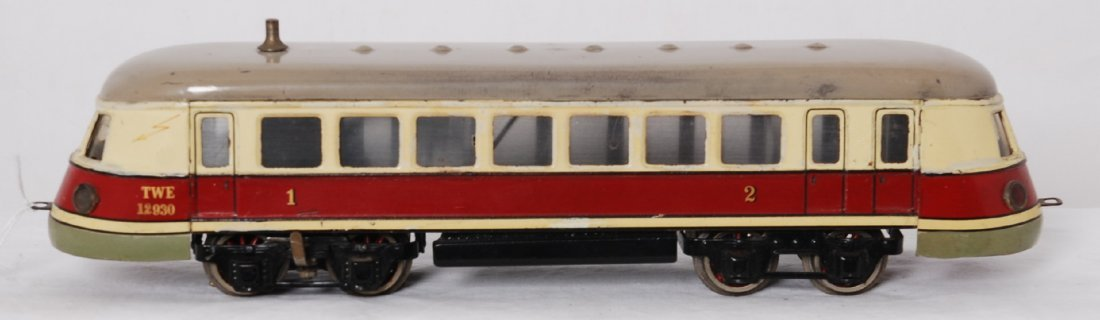 Marklin O gauge TWE 12930 1st and 2nd class motorized
