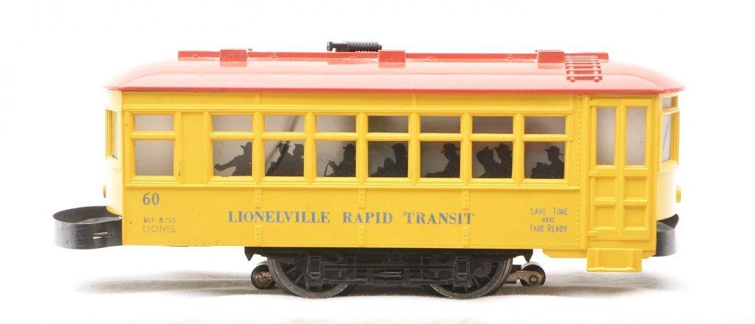 Lionel 60 Lionelville Rapid Transit Trolley