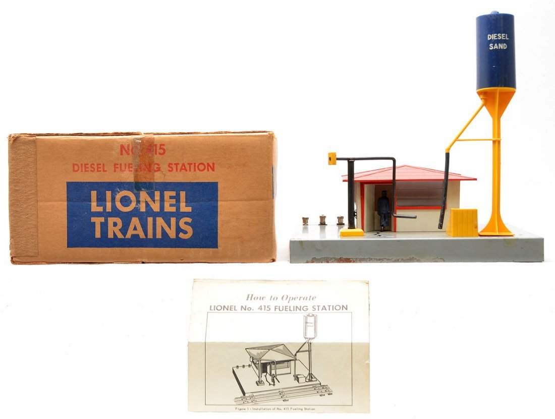 Lionel 415 Diesel Fueling Station Boxed