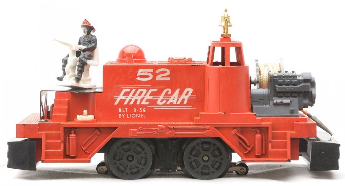 Lionel Postwar 52 Fire Car