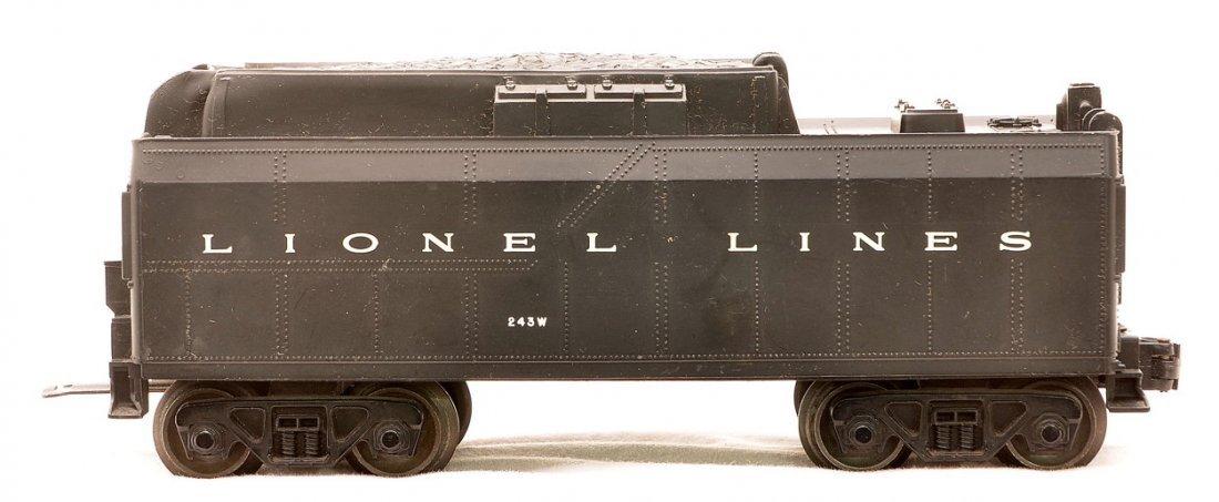 Lionel 243W Black Lionel Lines Tender