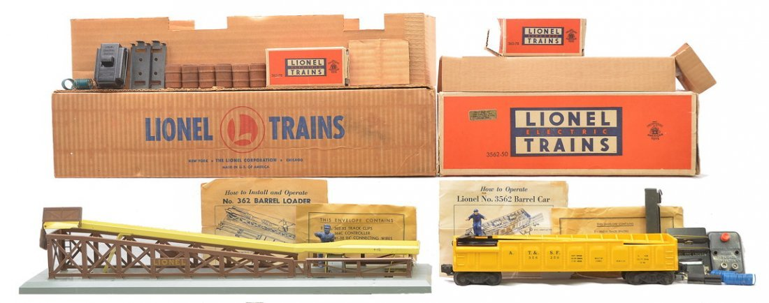 Lionel 362 Barrel Loader 3562-50 Barrel Car OBs