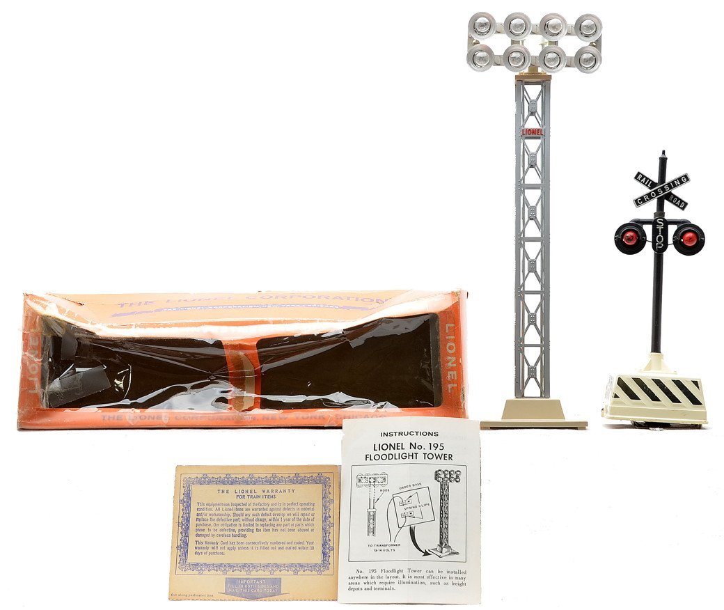 Lionel 195 Floodlight Tower 155 Blinking Signal