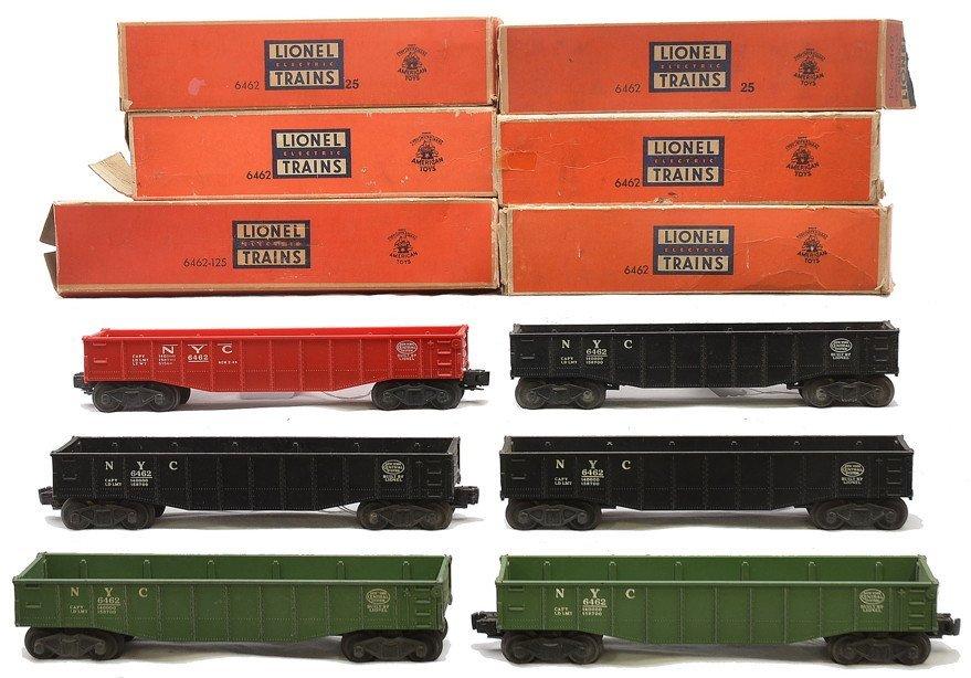 Lionel 2-6462-25 6462-125 3-6462 Gondolas Boxed