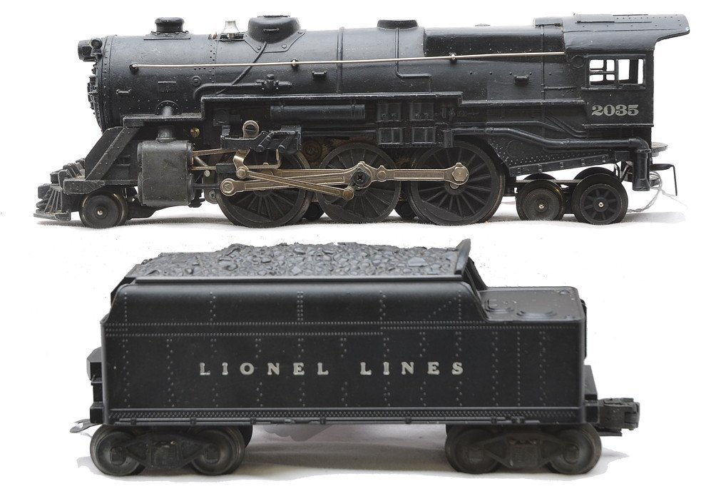 Lionel 2035 Steam Loco & 6466W LL Tender